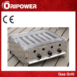 3-Burner Gas Grill with 3-Assorted Set pictures & photos