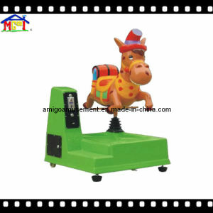 Fiberglass Kiddie Ride for Younger Kids Little Donkey pictures & photos