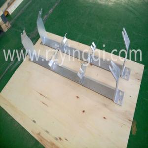 Belt Conveyor Hot Galvanized Trough Offset Inline V Return Training Support Stand Frame