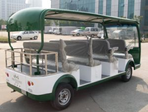 Utility Vehicle 11 Seater Electric Sightseeing Car with CE Certificate Made by Dongfeng for Sale