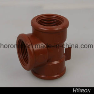 "Pph Water Pipe Fitting-Thread Reducer-Elbow-Tee-End Cap-Union (1""X3/4"") pictures & photos"
