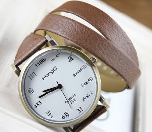 Long Leather Strap Watch pictures & photos