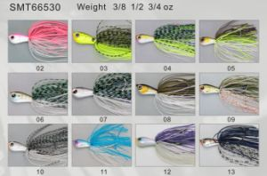 Bass Fishing PRO Top Grade Designed and Painted Spinner Bait 66530 Fishing Lure pictures & photos