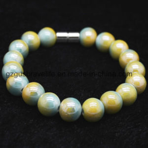 Luxury Prayer Tourmaline and Germanium Beads Necklace with Bracelet Set pictures & photos
