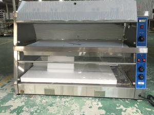 Food Display Warmer Showcase 2-Layer 4-Pan (HW-3P) pictures & photos
