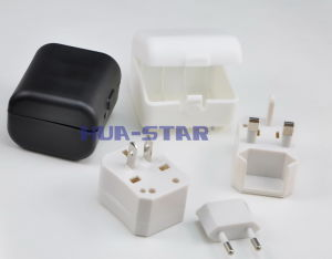 3 in 1 Travel Plug with CE&RoHS Approved (HS-T091) pictures & photos