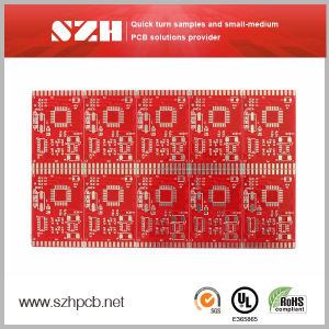 Low Cost Fr4 Double-Sided PCB pictures & photos