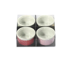 Round Rice Bowl Set with PVC Box pictures & photos