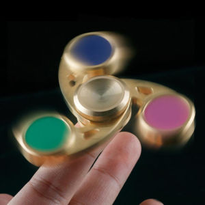 Metal Copper Cyclone Hurricane Whirlwind EDC Gyro Spinner Fidgets Hand Spinner for Autism Long Rotation Anti Stress pictures & photos