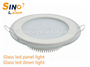 18W Glass LED Down Light, Slim LED Panel Lamp pictures & photos