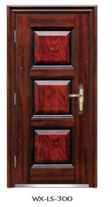 Luxury Steel Door (WX-LS-300) pictures & photos