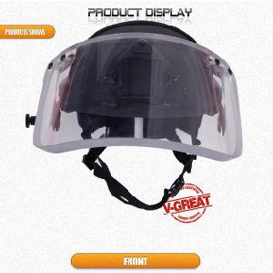 Nij Certified Fast Helmet with Visor pictures & photos