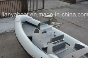Liya Hypalon Dinghy Center Console Boat Seat 7.5m Rib Fiberglass Boat pictures & photos