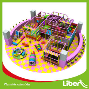 2014 Liben Hot New Children Indoor Play Center Castle Playground pictures & photos