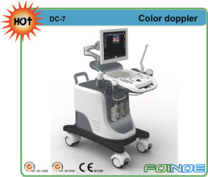 DC-7 Full Digital Color Doppler Ultrasound Trolley pictures & photos