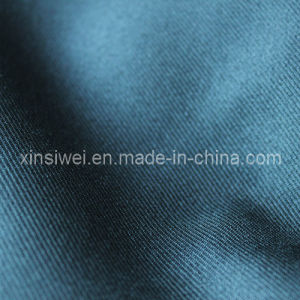 Two-Tone Twill Fabric/Polyester Twill Fabric for Trousers (SLTN9313) pictures & photos