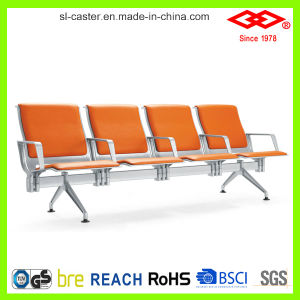 Red PU Seating Public Waiting Chair (SL-ZY035) pictures & photos