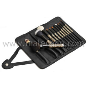 Hot-Sale 12PCS Makeup Brushes Cosmetic Brushes with Plastic Handles pictures & photos