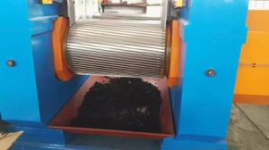 Rubber Cracker Crusher for Waste Tire Recycling Line pictures & photos