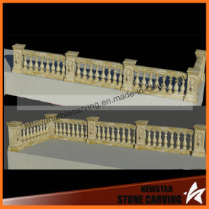Yellow Travertine Stone Balustrades and Handrails pictures & photos