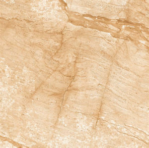 Yellowish AA043 Full Polished Porcelain Tile pictures & photos