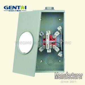 4 Terminal Ring Type Gtfp 200A Rectangular Meter Socket pictures & photos