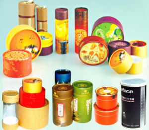 Customed Paper Packaging Cylindrical Boxes pictures & photos
