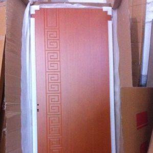 Luxury Front Modern Wood Door, Teak Solid Wood Door Designs (SC-W135) pictures & photos