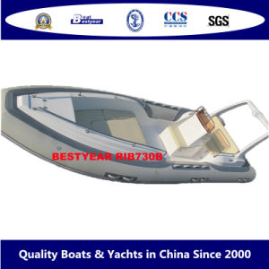Bestyear Rigid Inflatable Boat of Rib730b pictures & photos