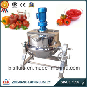 L&B Stainless Steel Paste Making Machine/Vertical Jacketed Steam Cooking Pot pictures & photos