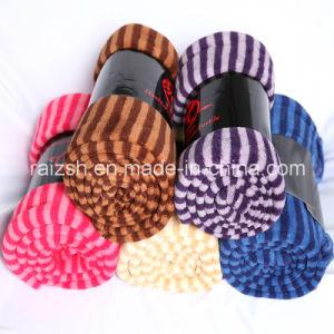 Coral Fleece Fringed Towel Blanket Multifunctional Blanket pictures & photos