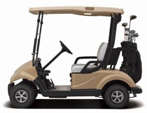 Pure 2 Electric Golf Cart with CE Certificate From Dongfeng for Sale pictures & photos