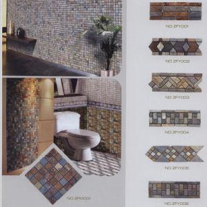 slate mosaic tiles ( Culture stone mosaic tiles) pictures & photos