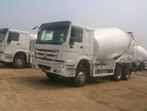 2017 China HOWO Concrete Mixer Truck with Best Price for Hot Sale pictures & photos