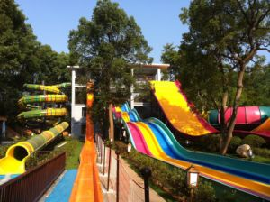 Fiberglass Water Slide Combination, Spiral & Straight Slide, Water Park Equipment pictures & photos