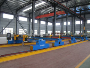 Steel Plate Automatic CNC Plasma Gantry Hot Cutting Machine pictures & photos
