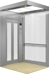 Smooth Glass Made Square Observation Elevator (BEX01)