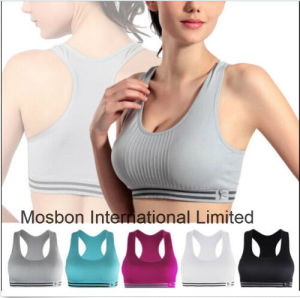 Women Seamless Racerback Sports Bra Yoga pictures & photos