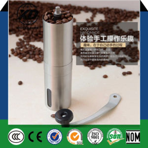 Portable Manual Stainless Steel Coffee Bean Grinder Milling Machine pictures & photos
