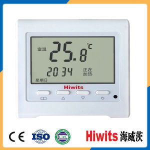 Wireless Smart Touch Screen Digital Room Thermostat for Heating System pictures & photos