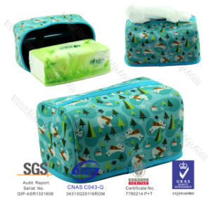 2016 New Style Neoprene Beauty Rectangle Tissue Box Decoration at Home Office Schol pictures & photos