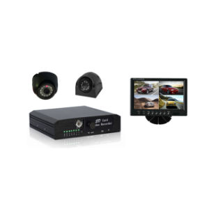 4 Channel H. 264 DVR, Support D1 Recording CCTV Surveillance Mobile DVR Kit pictures & photos
