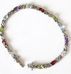 Fashion Popular 316 L Stainless Steel Bracelet + Hao Stone (YC-10020)