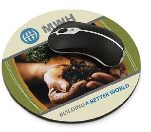 Round Customized Personalized DIY Heat Tranfer Printing Mouse Pad pictures & photos