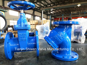DIN F4 Resilient Seated Gate Valve and Y Strainer Pn16 pictures & photos