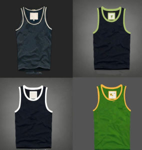 Casual Style Cotton Material Printed Logo Men Vest pictures & photos