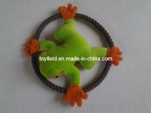 Rope Toy Dog Flying Plate Squeaky Rope Toy pictures & photos
