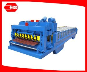 Metal Color Glazed Tile Roof Panel Roll Forming Machine (YX38-210-840) pictures & photos