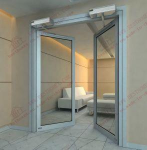 Automatic Aluminium Double Entry Door (DA-AC03) pictures & photos