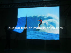 Rollable Flexible LED Curtain Display LED Video Wall pictures & photos